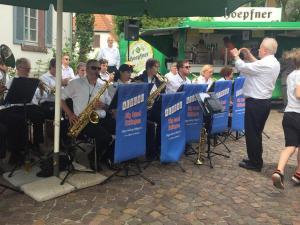 Dorfbrunnenfest Musikverein Spessart 30.05.2019