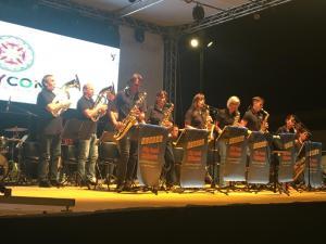 Musikalische Umrahmung durch den Albgau-Musikzug